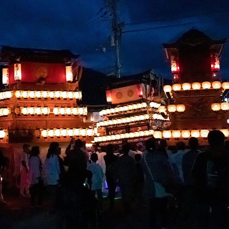 西条祭り、楢本祭